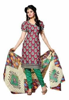 Fabdeal Indian Designer Pure Cotton Magenta & Sea Green Printed Salwar Fabdeal, http://www.amazon.co.uk/dp/B00IRBA8YW/ref=cm_sw_r_pi_dp_0yNntb0PD06ZV