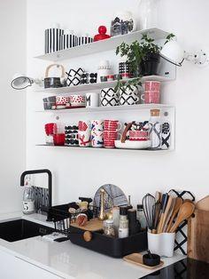 House Design, Scandinavian Decor, Decor, Kitchen Decor Themes, Interior, Marimekko, Beautiful Houses Interior, Home N Decor, Home Decor