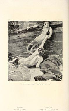 Fancy free, by Eden Phillpotts, with eight illustrations. ... | HathiTrust  Pinterest Board: Vintage Mermaid Illustrations