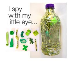 DIY I spy game