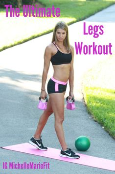 The Ultimate Legs #Workout: Get Skinnier LEGS with these 6 Exercises that sculpt and thin out the legs. Great #Workout for #Women.