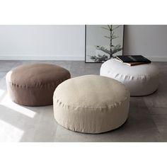Diy Furniture, Ottoman, Plush, Sofa, Bean Bags, Pillows, Chair, House Styles, Architects
