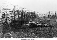 Throughout World War I, snipers were often used in the trenches in an effort to take out enemy soldiers as their heads peered over the top of the opposing trench. At the start of WW I, only Germany issued scoped rifles to their troops. The effectiveness of the German snipers resulted in their reputation which was due in part to their training, but also due to the high-quality lenses manufactured by the Germans, as the deadliest and most efficient sharp shooters during the war.