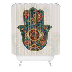 Valentina Ramos Hamsa Shower Curtain | DENY Designs Home Accessories