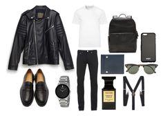 """For men"" by dobrayaprosto ❤ liked on Polyvore featuring Zara, Carven, Banana Republic, Balenciaga, Tom Ford, Ray-Ban, Givenchy, Versace, Paul Smith and men's fashion"
