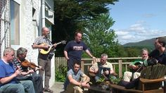 Caledonia - celtic tenors  and dervish in sligo