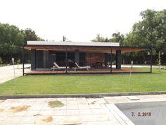 PERGOLAS Y QUINCHOS Outdoor Kitchen Design, Patio Design, Gazebo, Pergola, Outdoor Living, Outdoor Decor, Backyard Patio, Arch, Garage Doors