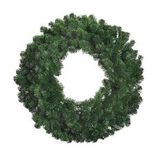 Factory Direct Craft 30 Green Artificial Windsor Pine Hanging Wreath >>> Read more reviews of the product by visiting the link on the image.
