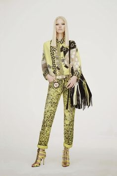 """versace 2015 collection 