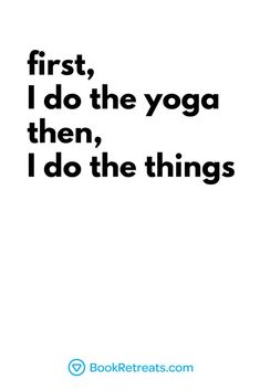 Yoga Quotes About Life (that will make you go hmmm) First I do the yoga, then I do the things ✌ Click the link for more yoga + meditation quotes!First I do the yoga, then I do the things ✌ Click the link for more yoga + meditation quotes! Yoga Meditation, Meditation Quotes, Yoga Flow, Pranayama, Yoga Girls, Yoga Inspiration, Eminem, Yoga Fitness, Frases Yoga
