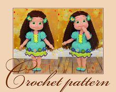 Anyuta - Amigurumi Crochet Pattern PDF file by Anna Sadovskaya