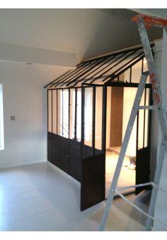 poutre m tallique rivet e en bois pinterest. Black Bedroom Furniture Sets. Home Design Ideas