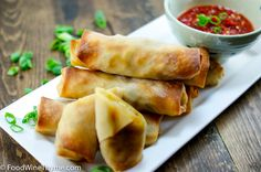 Baked eggrolls.  Omit the shrimp to make these vegetarian, or add egg, salmon, or chicken for a fish/poultry version.