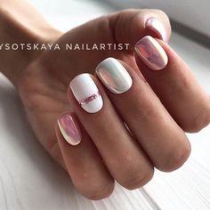 91 simple short acrylic summer nails designs for White Nail Art Ideas Nail Art Stripes, Striped Nails, Nail Manicure, Gel Nails, Nail Polish, Shellac, White Nail Art, White Nails, Stylish Nails