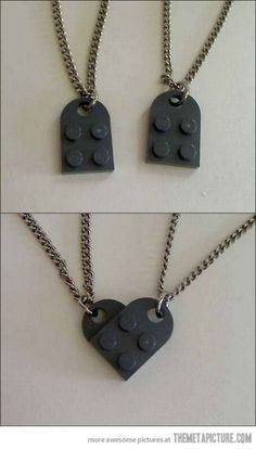 Best. Thing. Ever. LEGO LOVE. And it isn't obvious all on its own, nice.