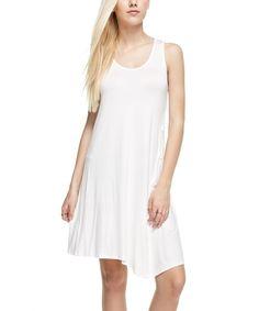 Ivory Sleeveless Dress