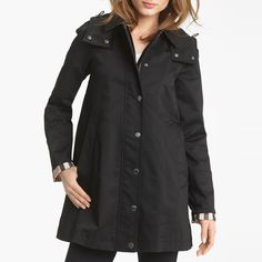 Rank & Style - Burberry Brit Bowpark Raincoat with Liner #rankandstyle