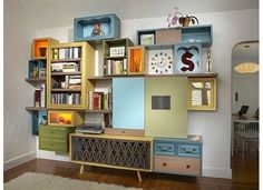 DIY Furniture Ideas | furniture and shelving, diy, repurpose, good ideas