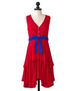 Tulsa Golden Hurricane | Team Flirty Dress | meesh & mia