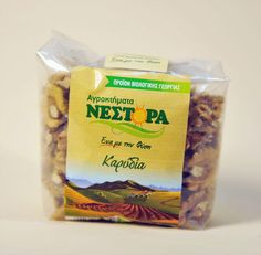 Walnuts 200 gr from Grevena,  Walnuts produced by biological agriculture from the region Grevena.