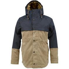 #Burton Mens #Snowboard Jacket Squire Quarry Burlap