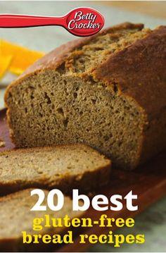 Bargain e-Cookbook: Betty Crocker 20 Best Gluten Free Bread Recipes {99 cents!} #glutenfree