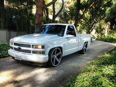 454 Chevy Trucks Lowered, Bagged Trucks, Custom Chevy Trucks, Dodge Trucks, Chevrolet Trucks, Pickup Trucks, Chevy Silverado Ss, Chevy Stepside, Silverado 1500