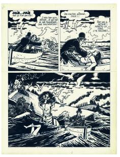 «Ici Même». roman graphique, scénario Jean-Claude Forest, dessin Jacques Tardi. prépublié dans (À SUIVRE) en 1978 et édité chez Casterman en 1979.