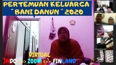 PERTEMUAN KELUARGA BANI DANUN SECARA VIRTUAL LEBARAN 2020 Vlog Youtube, Finland