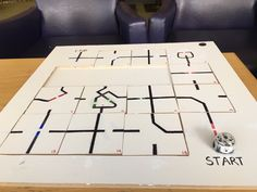 This is an Ozobot brain teaser uploaded to twitter by Carlos Fernandez. The goal it to move the jigsaw pieces to get Ozobot to the finish line. Looks really Fun. Do you think you could run the maze?