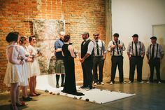 Short Non-traditional wedding ceremony in Downtown Phoenix Images by @GALAXIE ANDREWS