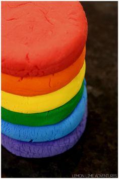 2 Ingredient Rainbow Soda Dough Recipe