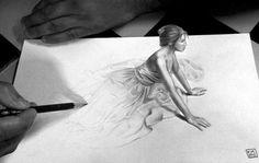 Incredible 3D Pencil Sketches18