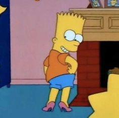 Bart Simpson (The Simpsons) The Simpsons, Simpsons Frases, Simpson Tumblr, Simpson Wallpaper Iphone, Iphone Wallpaper, Edna Mode, Cartoon Profile Pictures, Cartoon Memes, Cartoons