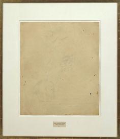 Robert Rauschenberg: <i>Erased de Kooning Drawing</i>, 1953.