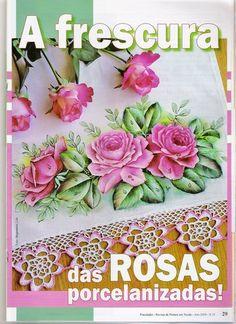 Como PINTAR ROSAS - Fatima Nega - Picasa Web Album
