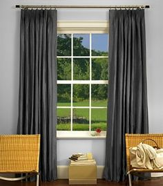 tailored pleat drapery u0026 curtains buy pleated silk draperies u0026 curtains online u2014 the shade