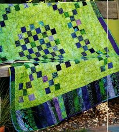 Tumbling Surf Quilt Pattern Pieced MS