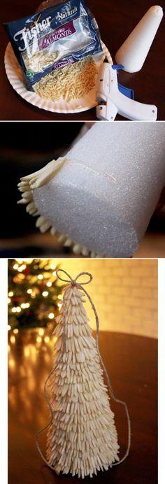 Holibanna 12pcs 10cm Christmas Craft Foam Cone Polystyrene Foam Foam Cone for Modeling DIY Arts Crafts Ornaments Wedding Decoration 10cm