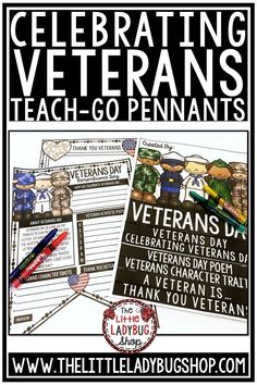 Your students will LOVE using these Veterans Day activities to celebrate this special day! Veterans and many others will enjoy seeing these activities displayed. Perfect for writing and researching. #veteransday #veteransdayactivities #RemembranceDay