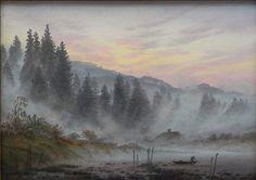 Morning - Caspar David Friedrich