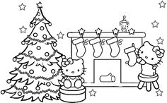 Christmas Coloring Pages Printable Cute Printable Christmas Coloring Pages Santa Coloring Pages, Printable Christmas Coloring Pages, Christmas Coloring Sheets, Halloween Coloring Pages, Coloring Pages To Print, Coloring For Kids, Coloring Pages For Kids, Coloring Books, Printable Coloring