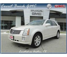 2005 Cadillac SRX is a White 2005 Cadillac SRX Car for Sale in Austin TX