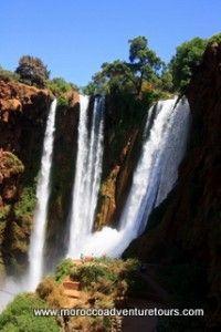 Ahansel river in Morocco