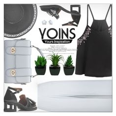 """Yoins"" by jiabao-krohn ❤ liked on Polyvore featuring St. John, yoins, yoinscollection and loveyoins"