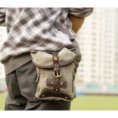Image detail for -Men's Italian Fashion Waist pack Messenger Bag A03 | eB