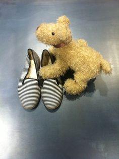 DOUUOD&shoes&details Stripes slipper Your best friend