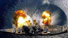 USS Missouri Firing Her Big Guns Sounds Out Of This World