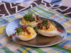 Deviled Eggs with Bacon and Hot Sauce Recipe | Alex Guarnaschelli | Food Network