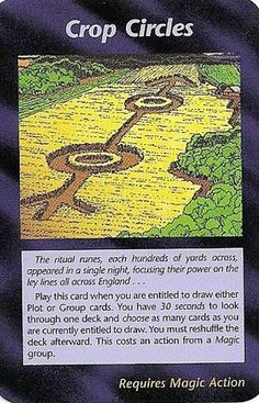 Illuminati Card Game - Crop Circles